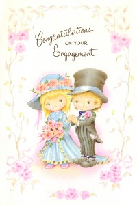 Cards abroad greetings cards posted abroad cover greeting congratulations on your engagement greeting inside the news of your engagement is very good to hear congratulations to you both and wishes m4hsunfo