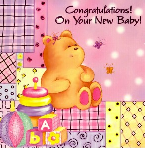 Cards abroad cover greeting congratulations on your new baby m4hsunfo