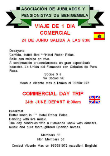 Commercial day trip 24th June 2011 Poster21